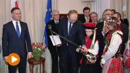 Spotkanie prezydenta Andrzeja Dudy z Polonią w Monachium (fot. TVP)