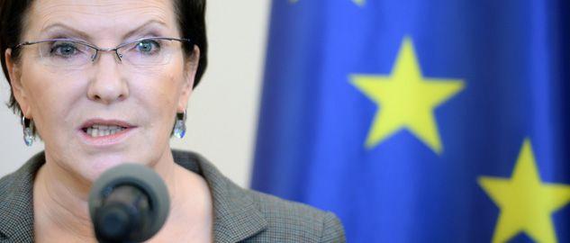 Desygnowana na premiera Ewa Kopacz ma wygłosić exposé w Sejmie (fot. PAP/Jacek Turczyk)