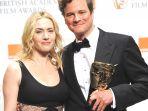Kate Winslet wręczyła nagrodę Colinowi Firthowi (fot. PAP/EPA/DANIEL DEME)