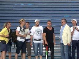 Grupa turystyczna w Lublinie