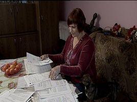 Pomoc otrzymała  także pani Alina w powiatu strzyżowskiego.