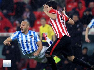 Puchar Króla – 1/4 finału: Atlhetic Bilbao – Malaga (II połowa)