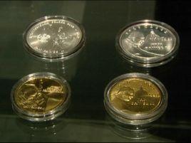 Na wystawie można obejrzeć monety złote, srebrne i ze stopu Nordic Gold.