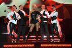 Belgijska gwiazda dance Kate Ryan na scenie Fortu Wola (fot. TVP/J.Bogacz)