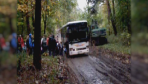 Dzieci, które jechały szkolnym autobusem przeżyły horror!