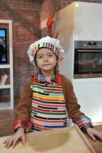 Swoje zdolności kulinarne prezentowały małe serialowe gwiazdy (fot. I. Sobieszczuk/TVP)