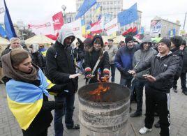 Studencki strajk w Kijowie