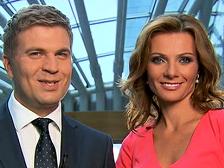 Agata Konarska i Marek Zając fot: TVP