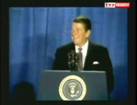 Ronald  Reagan jest honorowym obywatelem Krakowa