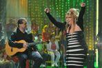 Maryla Rodowicz i jej gitarzysta (fot. Ireneusz Sobieszczuk/TVP)