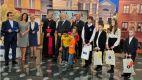 W gmachu TVP przy ul. Woronicza 17 odbyła się uroczystość wręczenia nagród laureatom Ogólnopolskiego Konkursu o Błogosławionym Ks. Jerzym Popiełuszce (fot. TVP/J.Bogacz)