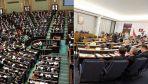 Obie izby parlamentu notują najlepsze oceny w ich bieżących kadencjach