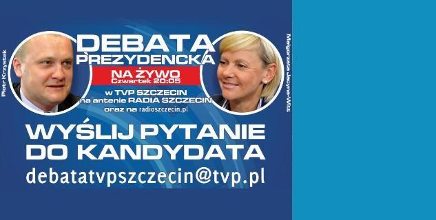 Debata na żywo w TVP Szczecin i Radiu Szczecin