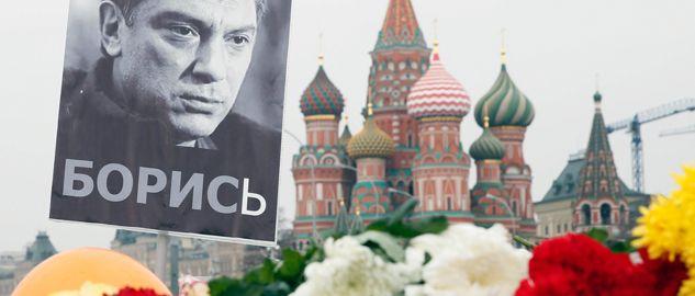 Borys Niemcow, jeden z liderów opozycji demokratycznej w Rosji, został zastrzelony w centrum Moskwy (fot. PAP/EPA/SERGEI ILNITSKY)