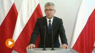 Marszałek Senatu Stanisław Karczewski (fot. TVP Info)