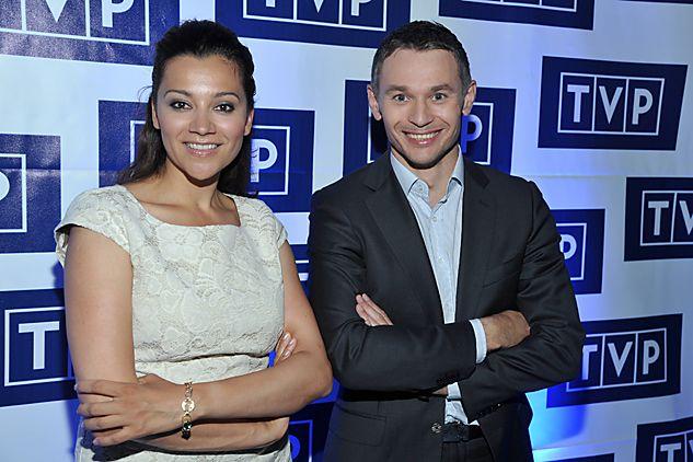 Do ekipy porannego programu Jedynki dołączą Klaudia Carlos i Łukasz Grass (fot. J. Bogacz/TVP)