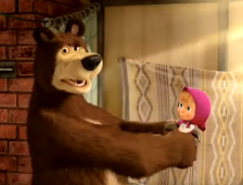 """""""Masza i niedźwiedź"""" fot: materiały promocyjne"""