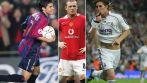 Javier Saviola, Wayne Rooney i Sergio Ramos (fot. Getty Images)
