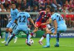 W spotkaniu uznawanym za hit środowych meczów Bayern Monachium pokonał Manchester City 1:0 (fot. Getty Images)