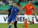 Ciro Immobile strzelił pierwszego gola w wygranym 2:0 meczu z Holandią (fot. Getty)