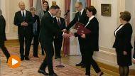 Uroczystość w Pałacu Prezydenckim (fot. TVP IInfo)