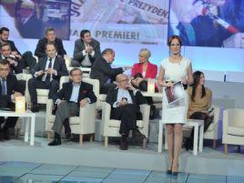 Paulina Chylewska poprowadzi program wspólnie z Przemysławem Babiarzem (fot. Jan Bogacz/TVP)