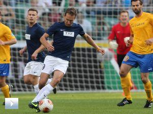 Piłka nożna, mecz charytatywny: Gwiazdy TVP – Gwiazdy TVN