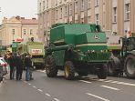 Protest rolników w Białymstoku - utrudnienia w ruchu w mieście