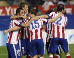 Za porażkę w 1. kolejce zrehabilitowało się Atletico. Mistrzowie Hiszpanii ograli Juventus 1:0 (fot. PAP/EPA)