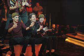 W programie wystąpiły tylko cztery zespoły, jednak każdy miał do wykonania po dwie piosenki (fot. I. Sobieszczuk/TVP) (c)
