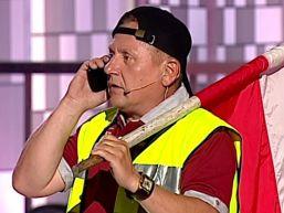 Rak - Protestant Krzysztof Hanke (XX Festiwal Kabaretu Koszalin 2014)