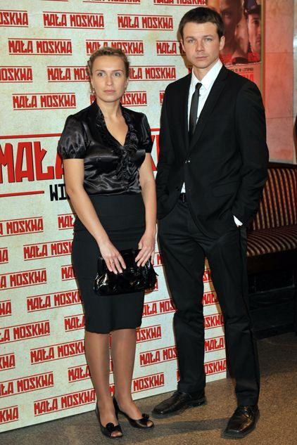Aktor Lesław Żurek z żoną (fot. TVP/Jan Bogacz)