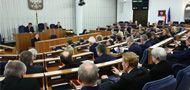 Posiedzenie Senatu zaplanowane jest na jeden dzień (fot. arch. PAP/Rafał Guz)
