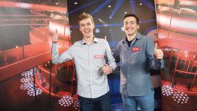Michał i Marcin są gotowi do gry! (fot. Gawrony) (c)