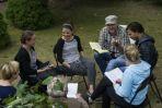 Scenariusz utrzymany jest w tonie komediowo-obyczajowym i opowiada o przygodach jakie spotykają młode Ukrainki w Warszawie  (fot. Jan Bogacz)