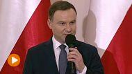 Prezydent Andrzej Duda (fot. TVP Info)