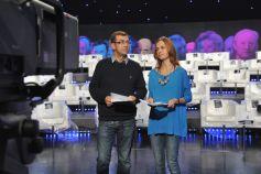 Paulina Chylewska i Maciej Orłoś poprowadzą Wielki Test o Telewizji (fot. Ireneusz Sobieszczuk/TVP)