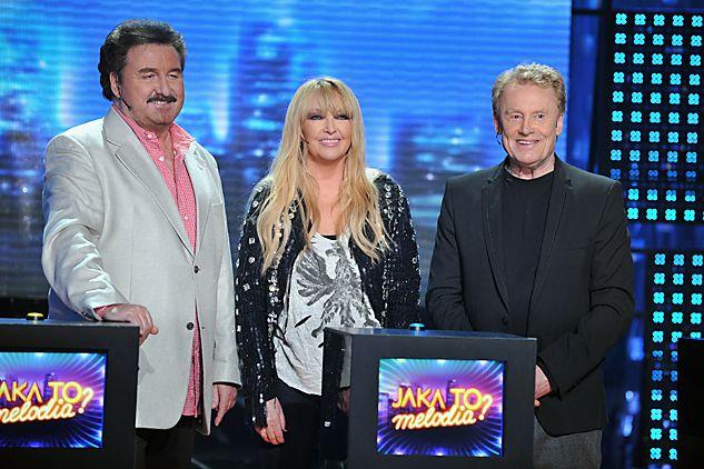 Gośćmi programu byli Maryla Rodowicz, Daniel Olbrychski i Krzysztof Krawczyk (fot. J. Bogacz/TVP)