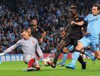 Łukasz Skorupski zadebiutował w Lidze Mistrzów w meczu, w którym jego Roma zremisowała z Manchesterem City 1:1 (fot. PAP/EPA)
