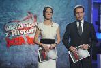 Imprezę prowadzili Paulina Chylewska i Piotr Kraśko (fot. Jan Bogacz/TVP)