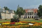 Zespół pałacowo-parkowy w Kozłówce powstał pod koniec XVIII wieku. (fot. TVP/I. Sobieszczuk)