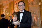 Przemysław Babiarz mógł się pochwalić statuetką w kategorii komentator (fot. I. Sobieszczuk/TVP)