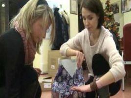 """Nasze redakcyjne koleżanki z Torunia - Marta Kalas i Marta Karpińska - także przygotowały prezenty w ramach """"Szalchetnej paczki"""""""