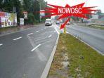 Rondo Grunwaldzkie  -  zmniejszenie powierzchni wyłączonej z ruchu na dojazdach od Jubilata i ronda Matecznego