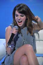 Młoda wokalistka zgarnęła w tym roku trzy statuetki Eska Music Awards (fot. I. Sobieszczuk/TVP).