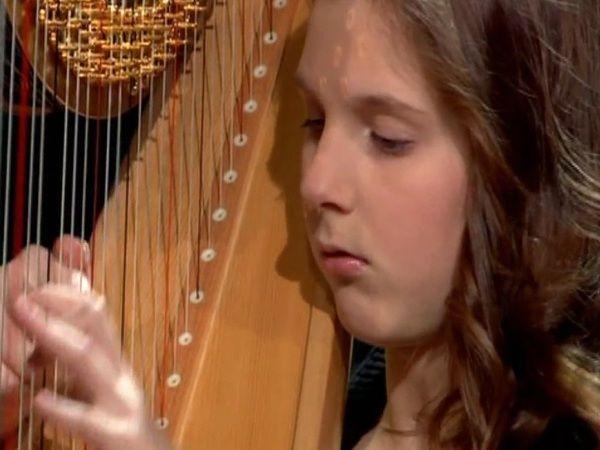 Aniela Rybak - harfa