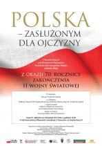 Polska – Zasłużonym dla Ojczyzny z okazji 70. rocznicy zakończenia II wojny światowej