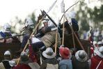 Bitwę zakończył atak na krzyżacki obóz (fot. PAP/Adam Warżawa)