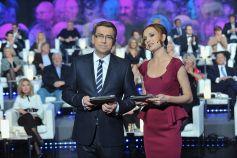 Paulina Chylewska i Maciej Orłoś mają już wprawę w prowadzeniu telewizyjnych testów (fot. Ireneusz Sobieszczuk)