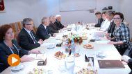 Posiedzenie Rady Bezpieczeństwa Narodowego (fot. PAP/Jacek Turczyk)